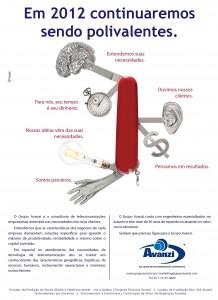 Anúncio Jornal Cana Dezembro 2011
