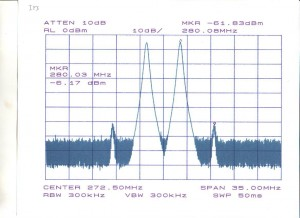 A intermodulação é um problema muito comum na radiocomunicação.