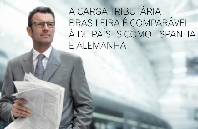 Carga tributária brasileira