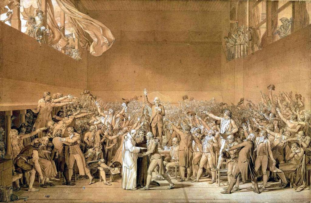 Com o declínio da monarquia, após a revolução francesa em 1789, o Estado enquanto instituição formou-se nos moldes que é hoje, influenciado por iluministas como Locke, Voltaire, Montesquieu, entre outros